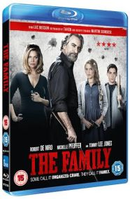 the family Win a goody bag and Blu ray from The Family