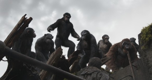 Dawn of the Planet of the Apes 3 585x307 HeyUGuys On Set: Witnessing the Dawn of the Planet of the Apes