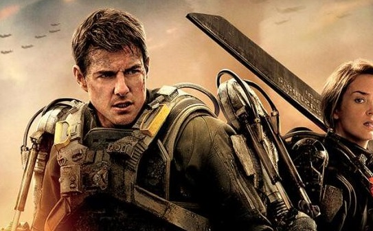 Emily Blunt Edge Of Tomorrow Poster Tom Cruise and Emily Blunt