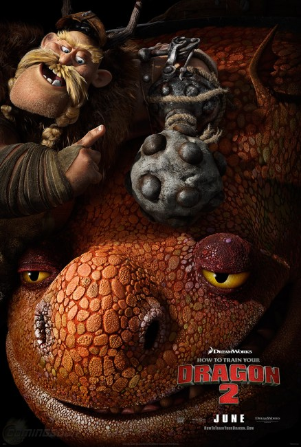 How to Train Your Dragon 2 Character Poster Gobber and Grump 438x650 New Trailer and Poster for DreamWorks' How to Train Your Dragon 2