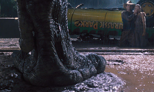Jurassic Park Foot The Big Tease   Why Movie Trailers Need to Hold Back