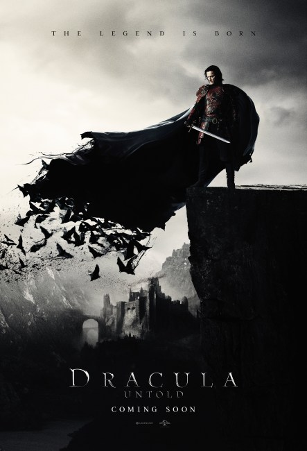 Dracula Untold 443x650 The First Poster Arrives for Luke Evans Dracula Untold