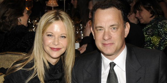 Tom Hanks Meg Ryan 585x292 Tom Hanks to Reunite With Meg Ryan in Word War II Coming of Age Story Ithaca