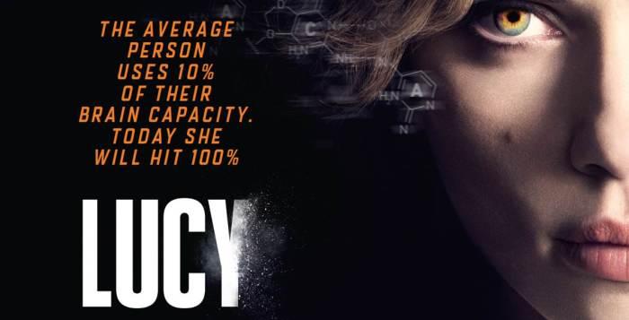 The UK Poster for Lucy starring Scarlett Johannson