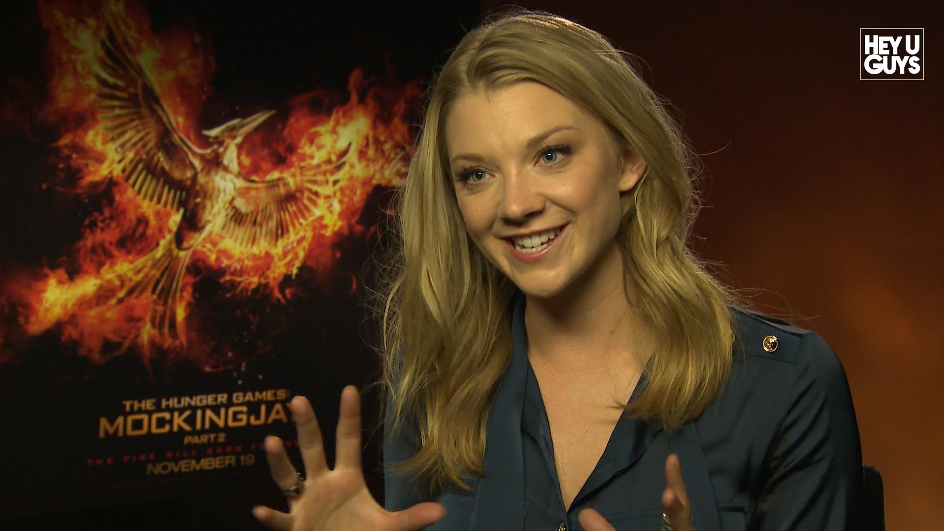 Hunger Games: Mockingjay Star Natalie Dormer Talks