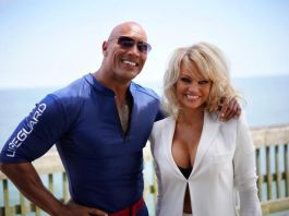 The Rock and Pamela Anderson Baywatch