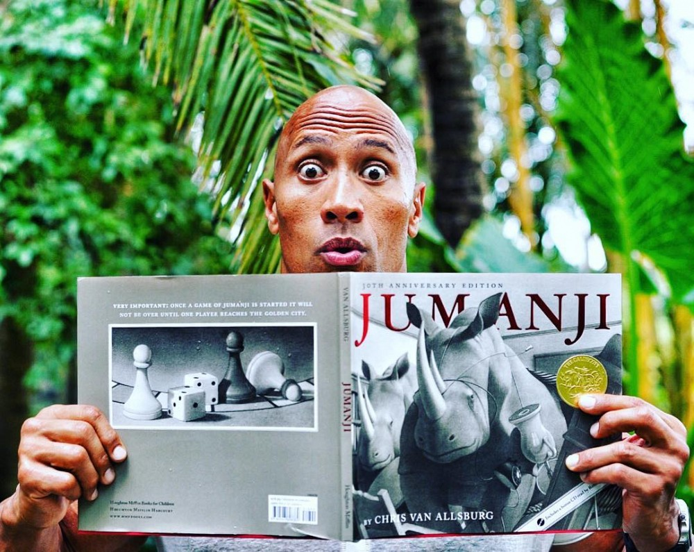 New Jumanji Will Not Be A Remake, Says Johnson