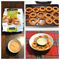 Game Time Grub: Alexia Fries & Onion Rings with Dips ...