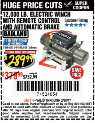 Harbor freight winch coupon 12000 / Omega sports coupon printable