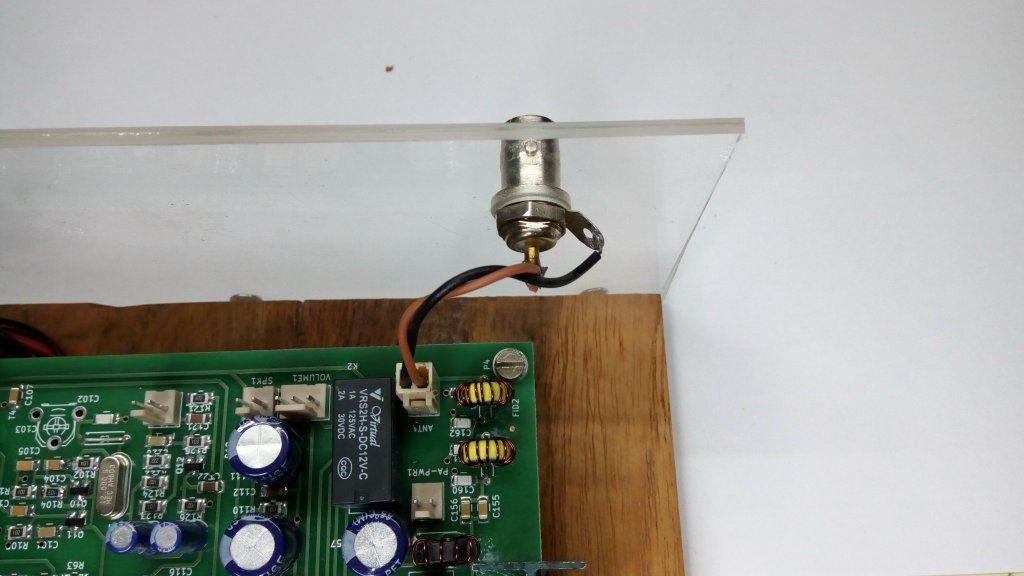 Wiring up the BITX40 \u2013 HF SIGNALS
