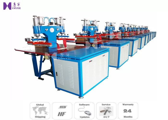 PVC Label High Frequency Welding Equipment G Frame Steel Structure