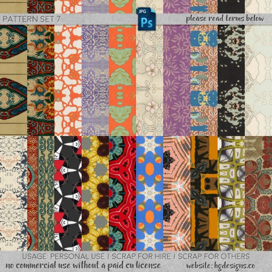 Free download ~ seamless tiling jpg patterns ~ courtesy of hgdesigns.co