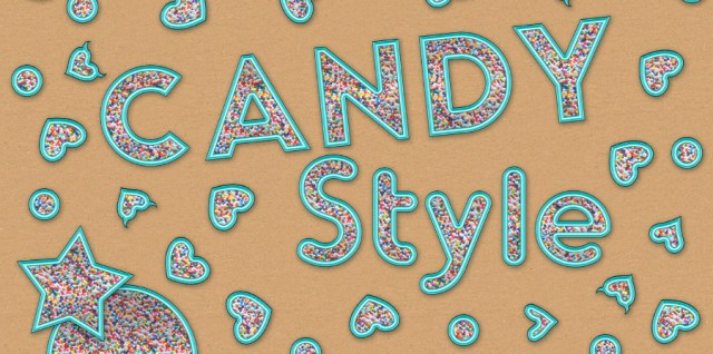 Free download ~ candy photoshop layer style