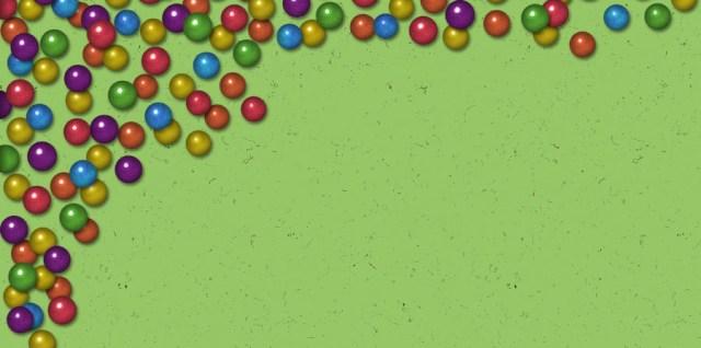 Free download ~ commercial use transparent png big beads corner element.