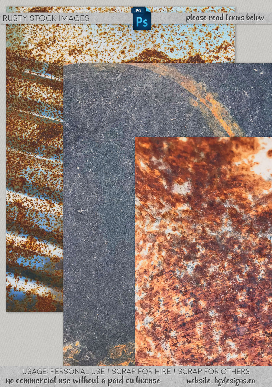 freebie: rusty stock textures