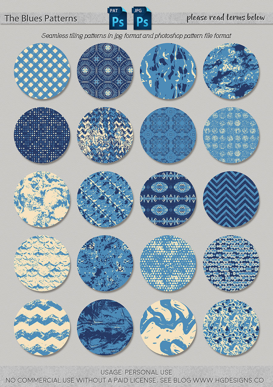 freebie: seamless tiling patterns