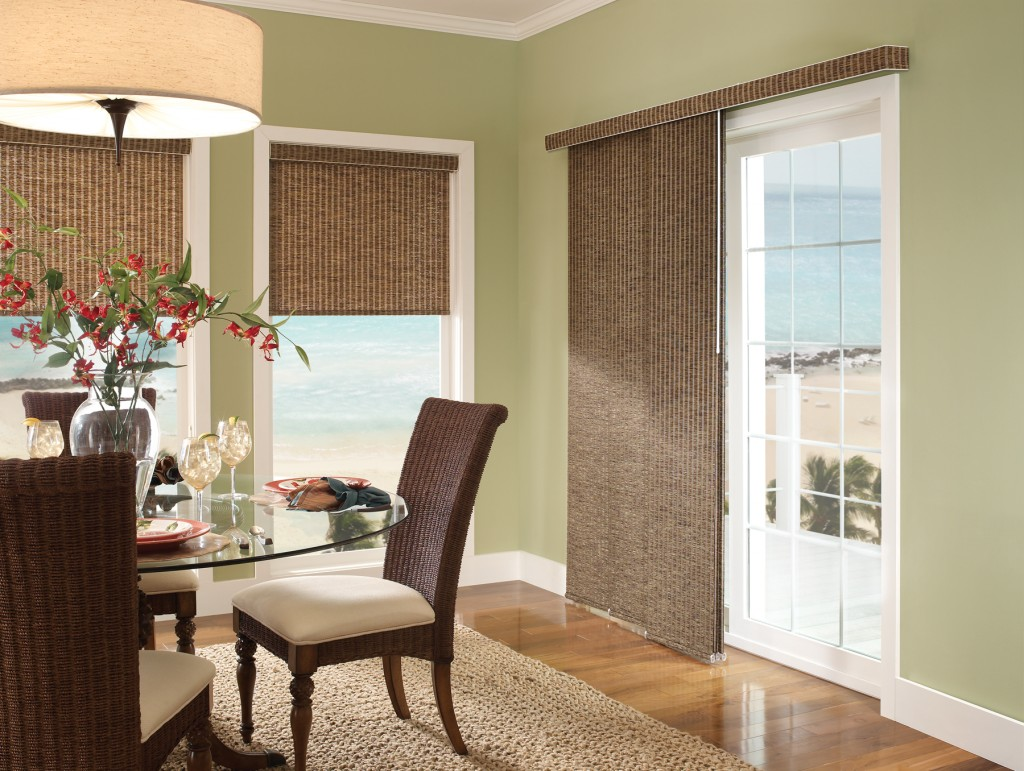 View in gallery window coverings for sliding glass doors