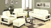 white living room furniture sets