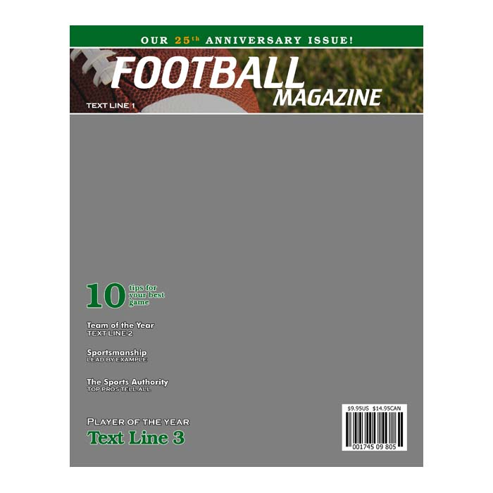 Football Product Templates HH Color Lab