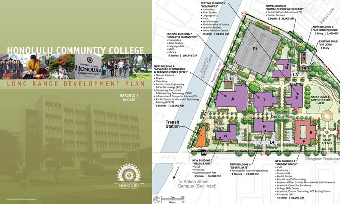 Honolulu Community College LRDP HHF Planners
