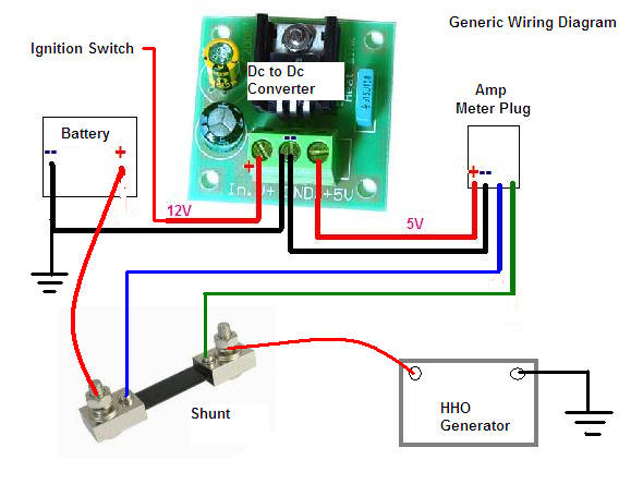 Wiring Volt Ammeter Electronic Schematics collections