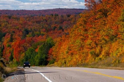 Beautiful Fall Scenery Wallpapers Autumn Road Scenery Picture Photo Information