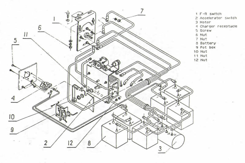 fisher plow wiring diagram with cables