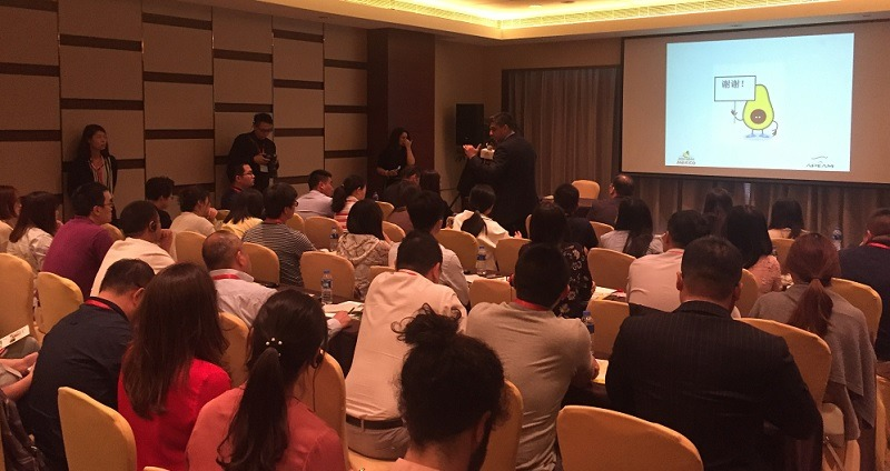 Simultaneous Interpreting English – Chinese for a Mexican Avocado Seminar in Shanghai