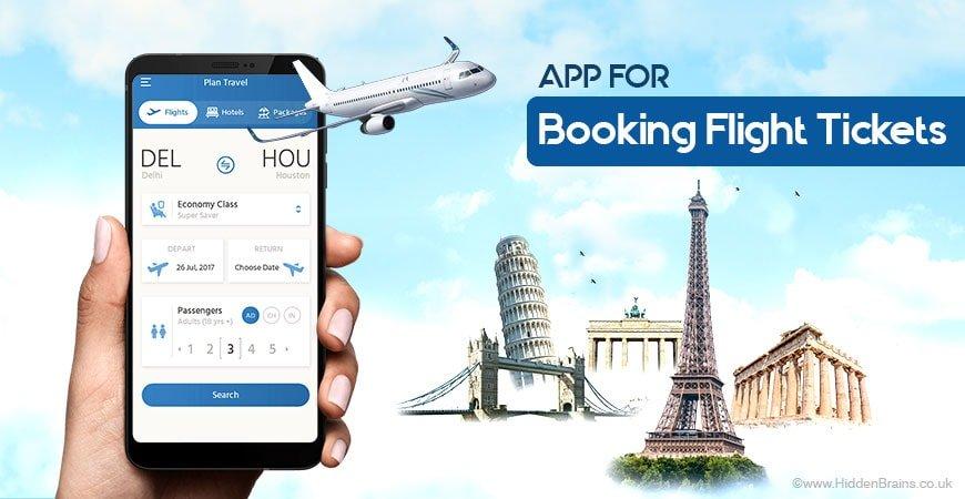 How much it Costs to Build Flight Ticket Booking App? Hidden Brains UK