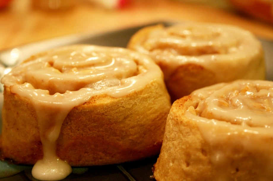 fat free cinnamon rolls recipe