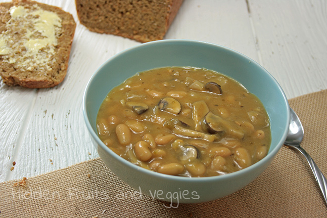 White Bean And Mushroom Chili