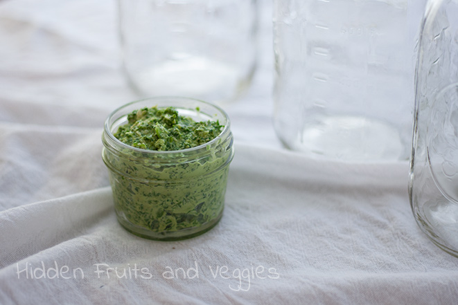 Basil and Spinach Pesto
