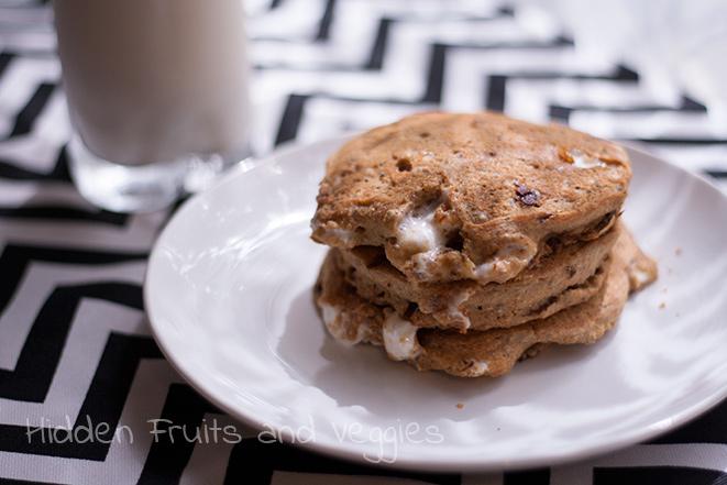 S'mores Pancakes