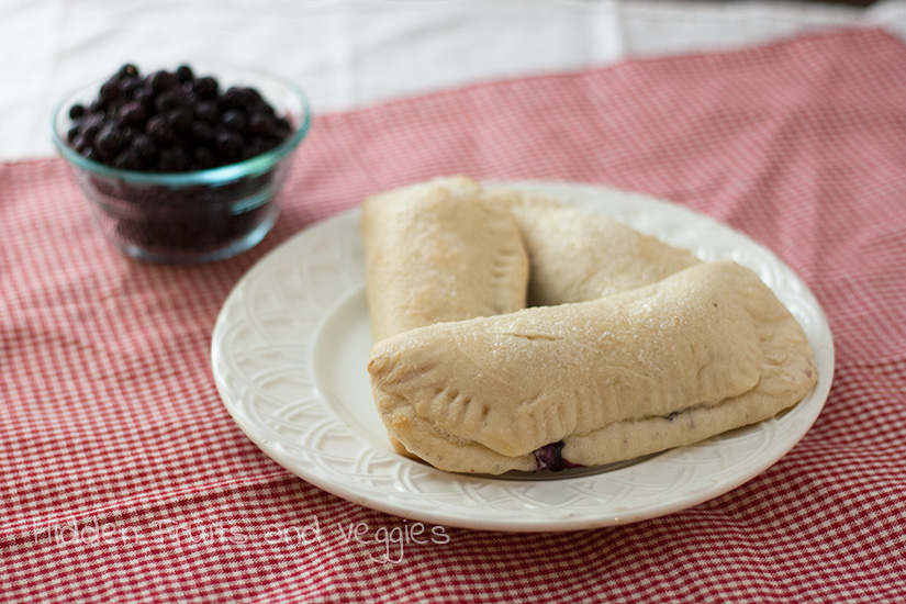 Wild Blueberry Cheesecake Dessert Calzone