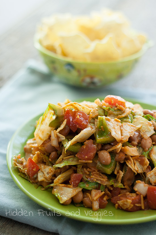 Taco Salad with French Dressing