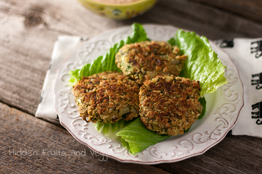 Crab cake with zucchini recipe | Food fox recipes