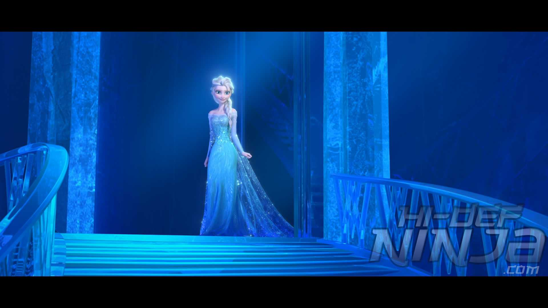 Hi Def 3d Wallpaper Uk Frozen 3d Blu Ray Review Hi Def Ninja Blu Ray