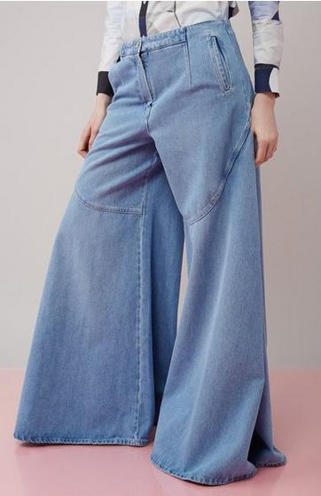 Kenzo Wide Leg Jeans 2
