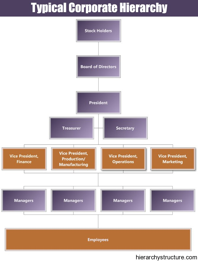 1 Business Management Hierarchy