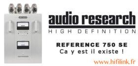 article audio research REF 750 se