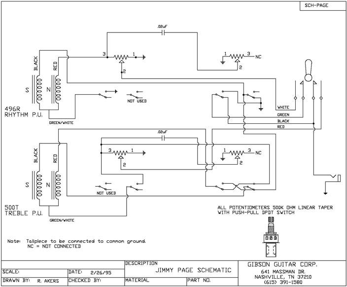 Wiring Diagram Detail Gibson Les Paul Guitar Online Wiring Diagram