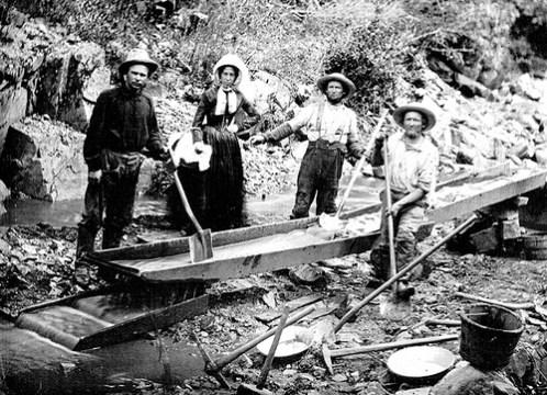 History of the California Gold Rush