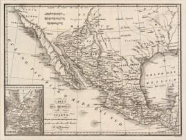 Carta Del Messico Gold Rush Era