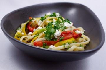 Bucatini-Zucchini-Salat