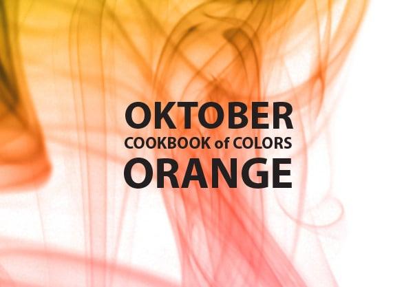 Cookbook of Colors: Oranger Oktober