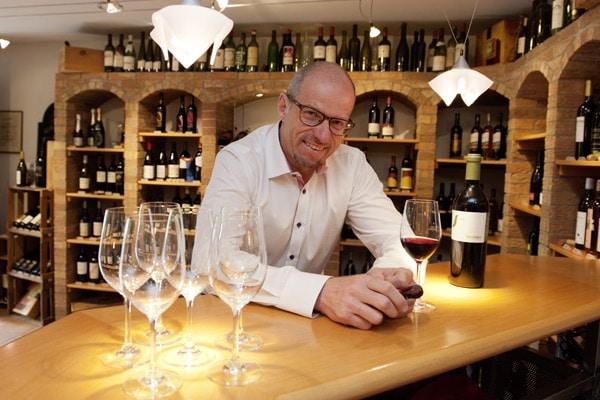 Weinexperte Bruno Jeggli