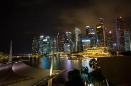 singapore-waterfront-night