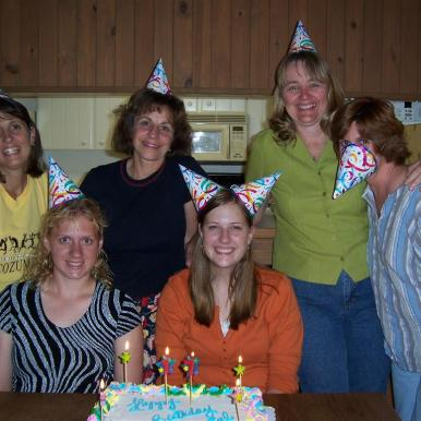 Carlee, Crystal, Anne, Martha, Nora, Judy