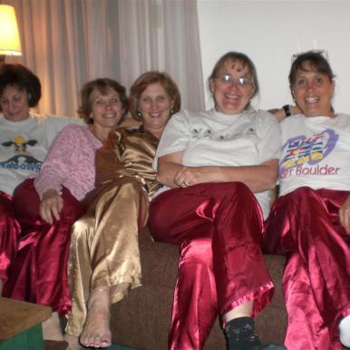 Nora, Diane, Sheryl, Judy, Martha