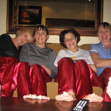 Sheryl, Martha, Nora, Judy